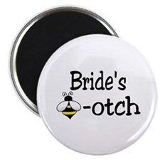 "Bride's Beeotch 2.25"" Magnet (10 pack)"