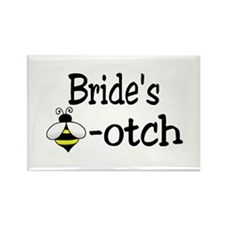 Bride's Beeotch Rectangle Magnet