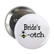 "Bride's Beeotch 2.25"" Button"
