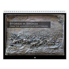 Stories in Bronze Civil War Wall Calendar