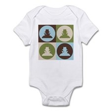 Spying Pop Art Infant Bodysuit