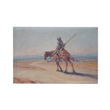 Don Quixote Rectangle Magnet (10 pack)