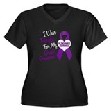 I Wear Purple For My Great Grandma 18 (AD) Women's
