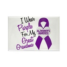 I Wear Purple For My Great Grandma 18 (AD) Rectang