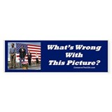 """Patriotic?"" Bumper Sticker (10 pk)"