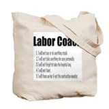 Labor Coach Canvas Hospital Bag