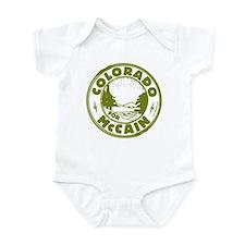 Colorado For McCain (Green) Infant Bodysuit