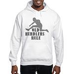 Old Sprinters Rule Hooded Sweatshirt