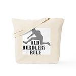 Old Sprinters Rule Tote Bag