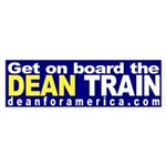 Get on board the Dean Train (sticker)