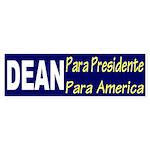 Dean Para Presidente Para America