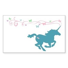 Unicorn Rectangle Decal