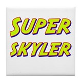 Super skyler Tile Coaster
