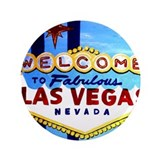 "Cute Las vegas 3.5"" Button (100 pack)"