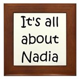 Cool Nadia Framed Tile