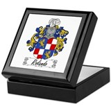 Rolando Family Crest Keepsake Box