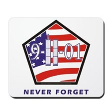 NEVER Forget - Mousepad