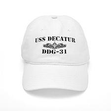USS DECATUR Baseball Cap