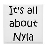 Cool Nyla Tile Coaster