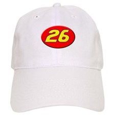 Ricky Bobby Number 26 Talladega Nights Racing Baseball Cap