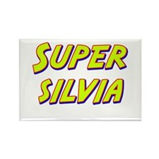 Super silvia Rectangle Magnet