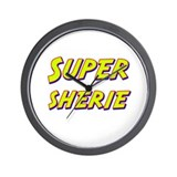 Super sherie Wall Clock