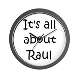 Cool Raul Wall Clock