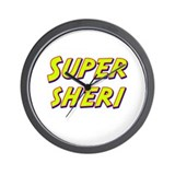 Super sheri Wall Clock