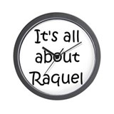 Cool Raquel Wall Clock