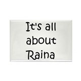 Raina Rectangle Magnet (100 pack)
