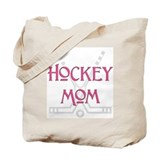 Hockey Mom Pink Tote Bag