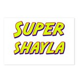 Super shayla Postcards (Package of 8)