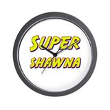 Super shawna Wall Clock