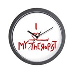 my therapist Wall Clock