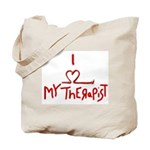 my therapist Tote Bag