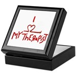 my therapist Keepsake Box