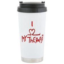 my therapist Ceramic Travel Mug