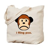 Monkey Poo Tote Bag