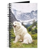 Great Pyrenees Journal - Mountain Pose
