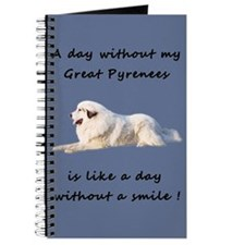 Great PyreneesJournal blue