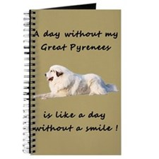 Great Pyrenees Journal sand