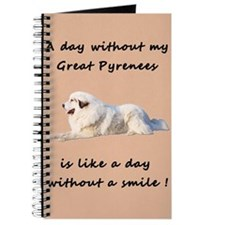 Great Pyrenees Journal pink