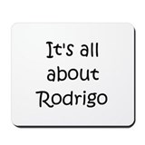 Cool Rodrigo Mousepad