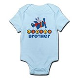 Aviator Bunny Little Brother Infant Bodysuit