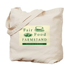 Fair Food Farmstand tote bag (natural)