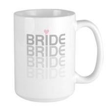 Faded Gray Text Bride Mug