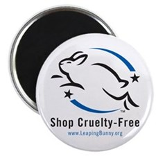 """Leaping Bunny (2.25"""" Magnet -- 10 pack)"""