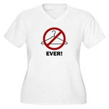 'No Wire Hangers Ever!' T-Shirt