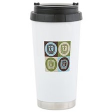 Occupational Therapy Pop Art Ceramic Travel Mug