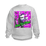Born To Climb Kids Sweatshirt